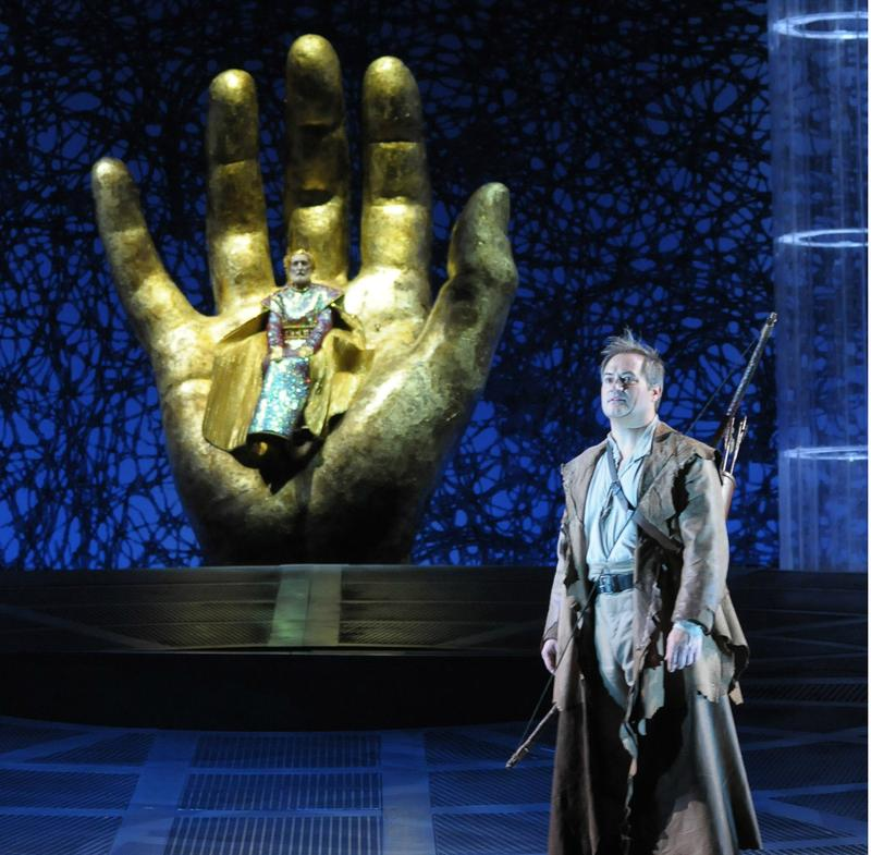"""Paul Groves as the title hero in Lyric Opera's production of Wagner's """"Parsifal."""""""