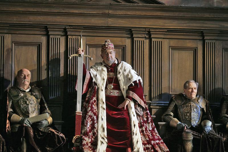 Placido Domingo stars as 'Simon Boccanegra' at the Metropolitan Opera.