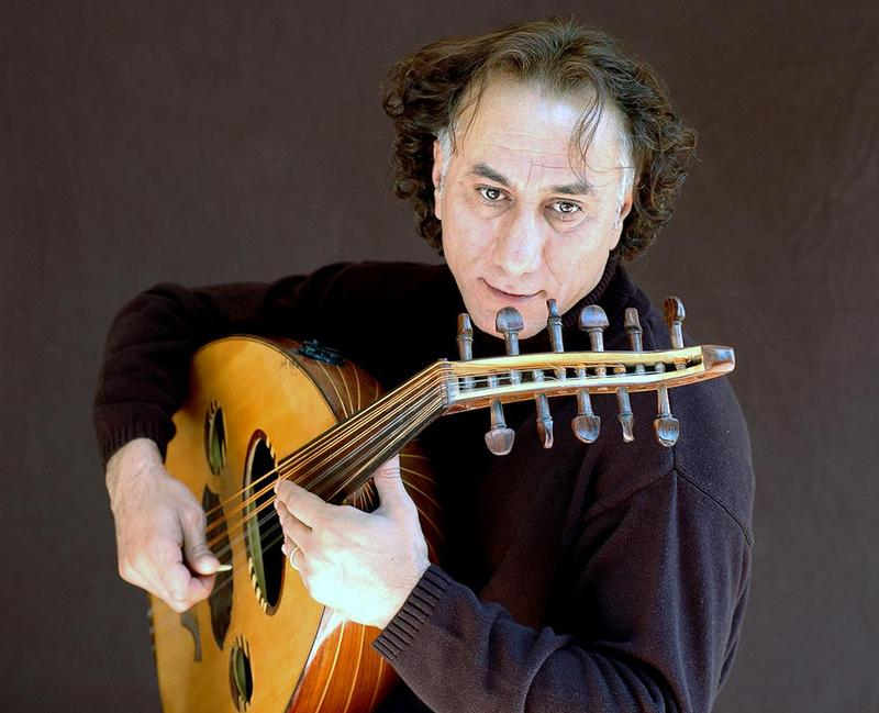 Composer and oud musician Rahim AlHaj.