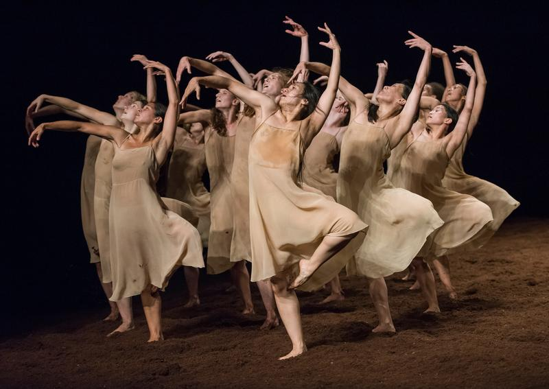 The 'Rite of Spring' as performed by Tanztheater Wuppertal and choreographed by Pina Bausch