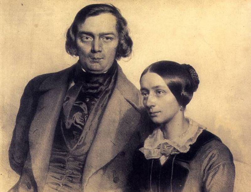 Robert and Clara Schumman, an old-school power couple.