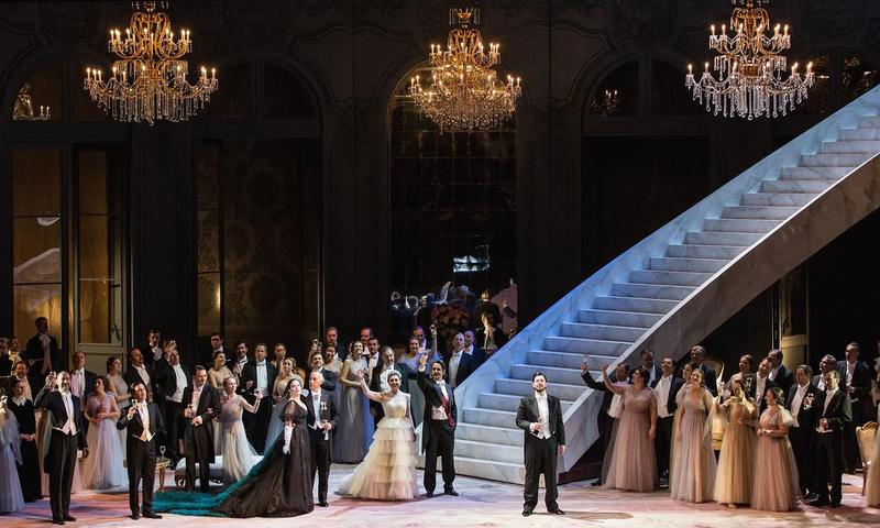 Sofia Coppola directs her first opera with a production of 'La Traviata' at Teatro dell'Opera di Roma.