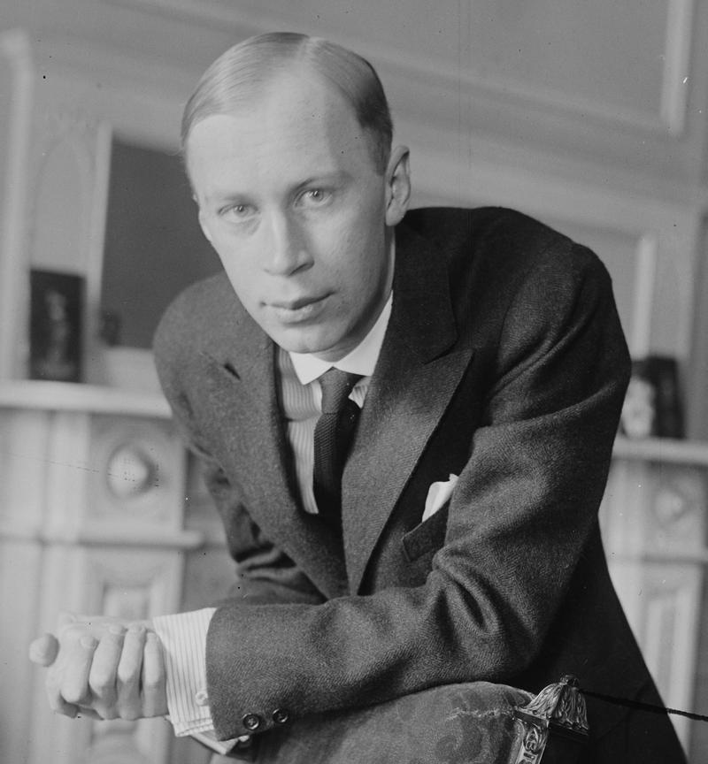 Serge Prokofiev in New York in 1918.