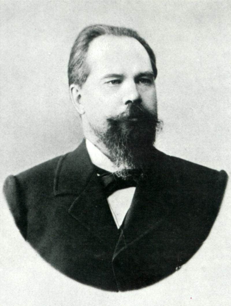 Sergey Taneyev, composer, ca. 1890