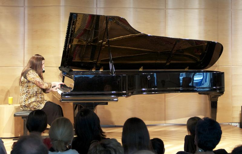 Simone Dinnerstein plays Bach's 'Goldberg Variations' in the Greene Space.