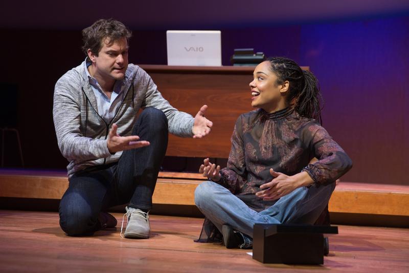Joshua Jackson and Tessa Thompson star in 'Smart People.'