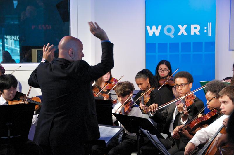 Students from New York City's Summer Arts Institute perform live in The Greene Space.