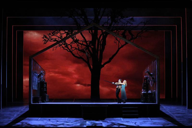 """Brandon Jovanovich as Siegmund and Karita Mattila as Sieglinde in Wagner's """"Die Walküre"""""""