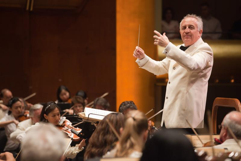 Conductor Bramwell Tovey.
