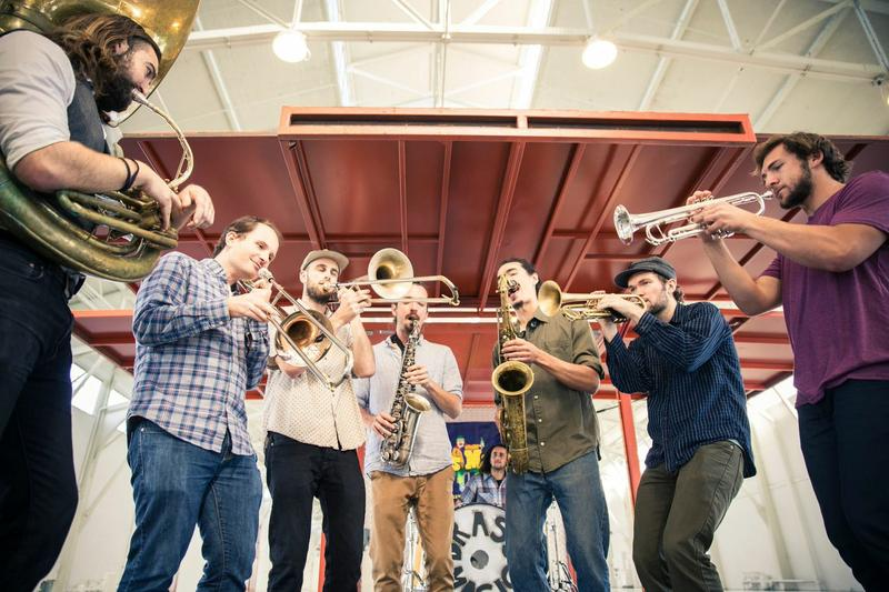 Brass Magic performs at the annual Switchboard Music Festival April 4