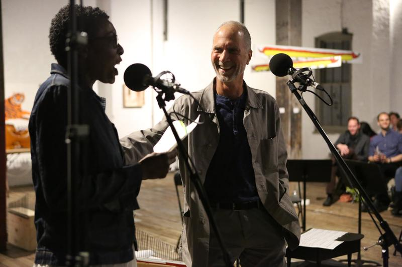 Helga Davis interviews composer John Luther Adams at the 2016 Look & Listen Festival at The Invisible Dog Art Center.
