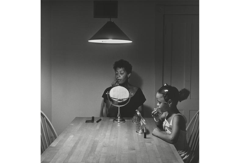 Carrie Mae Weems Kitchen Table Series A black photographer looking for her way in wnyc news wnyc untitled woman and daughter with makeup from carrie mae weems kitchen workwithnaturefo