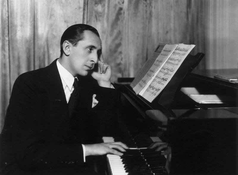 Pianist Vladimir Horowitz strikes a poignant pose at the piano, circa 1936.