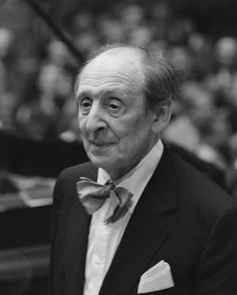 Vladimir Horowitz November 23, 1986.