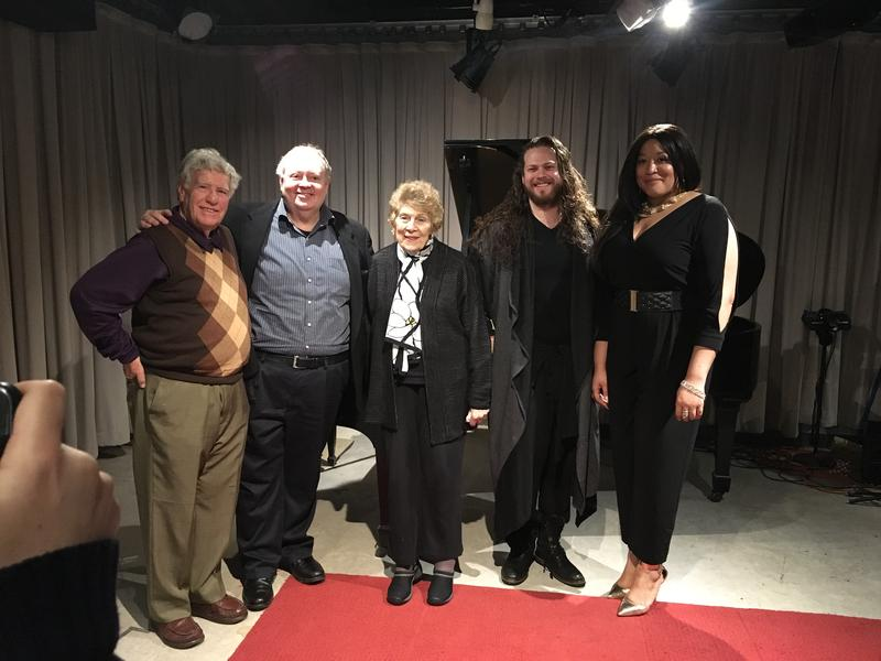 George London Foundation for Singers Awards Competition winners soprano Michelle Bradley and bass-baritone Cody Quattlebaum.