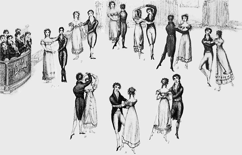 People have been dancing the waltz for centuries.