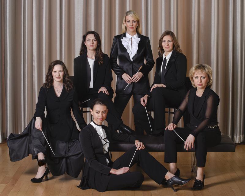 The 2015 participants of Dallas Opera's Institute for Women Conductors.