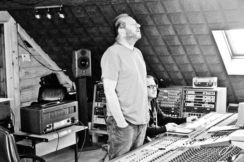 Polish composer Zbigniew Preisner in his studio.