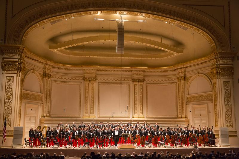 The National Youth Orchestra of the United States of America at Carnegie Hall in 2014