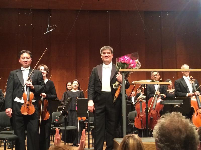 Alan Gilbert at his final concert at the New York Philharmonic, June 2017.
