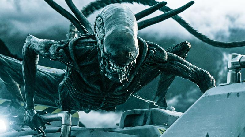 A still image from Alien: Covenant