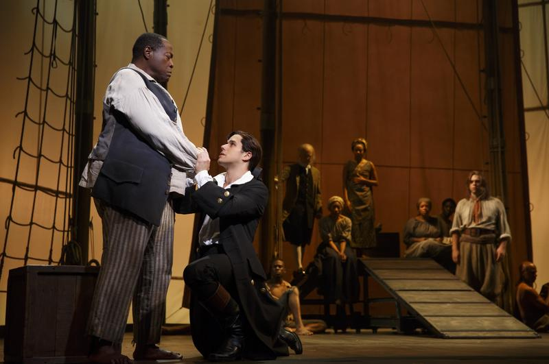 The new musical 'Amazing Grace' on Broadway at the Nederlander Theatre.