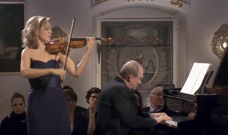 Anne-Sophie Mutter and Lambert Orkis