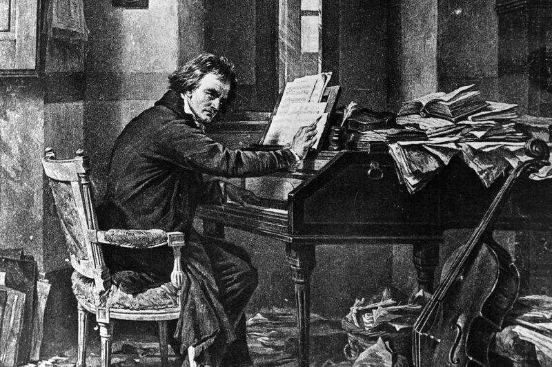Image result for beethoven playing piano