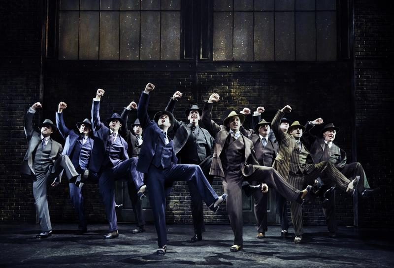 The cast of 'Bullets Over Broadway.'