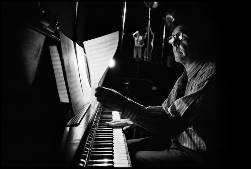 John Cage in Amherst, Massachusetts, February 1970