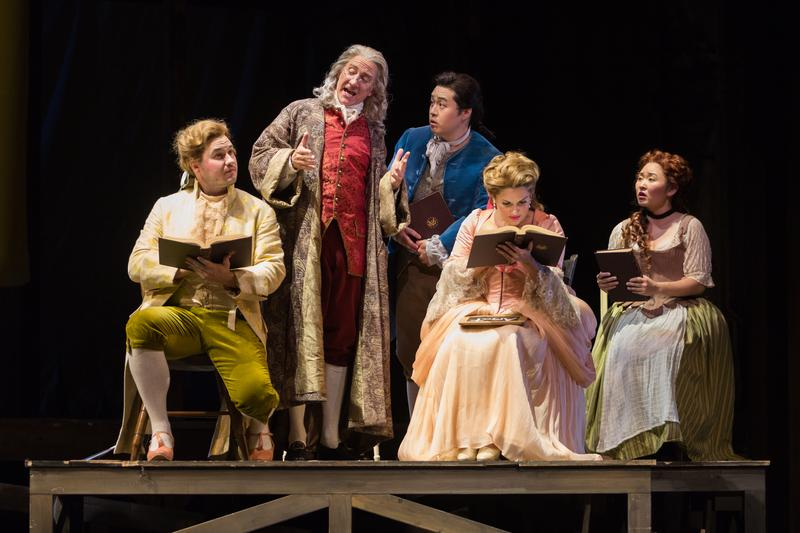 "The Glimmerglass Festival's 2015 production of Bernstein's ""Candide."""