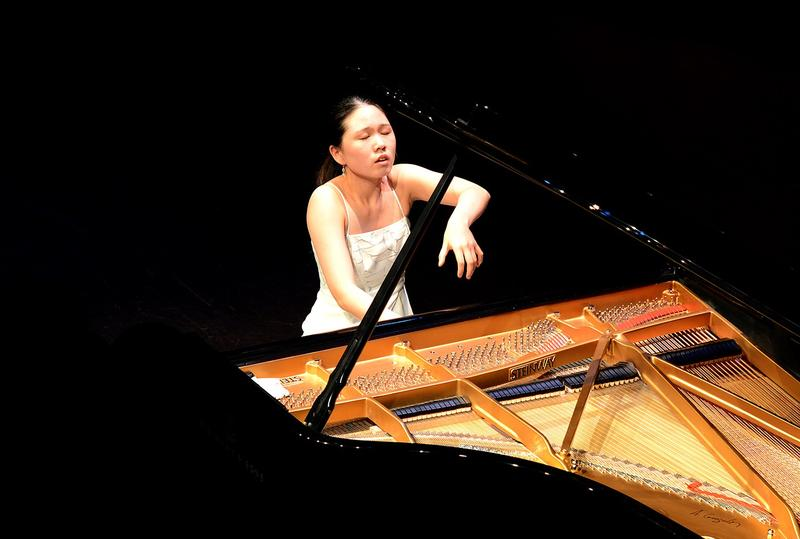 Chaeyoung Park was one of the 2017 winners of the Gina Bachauer Piano Competition at The Juilliard School