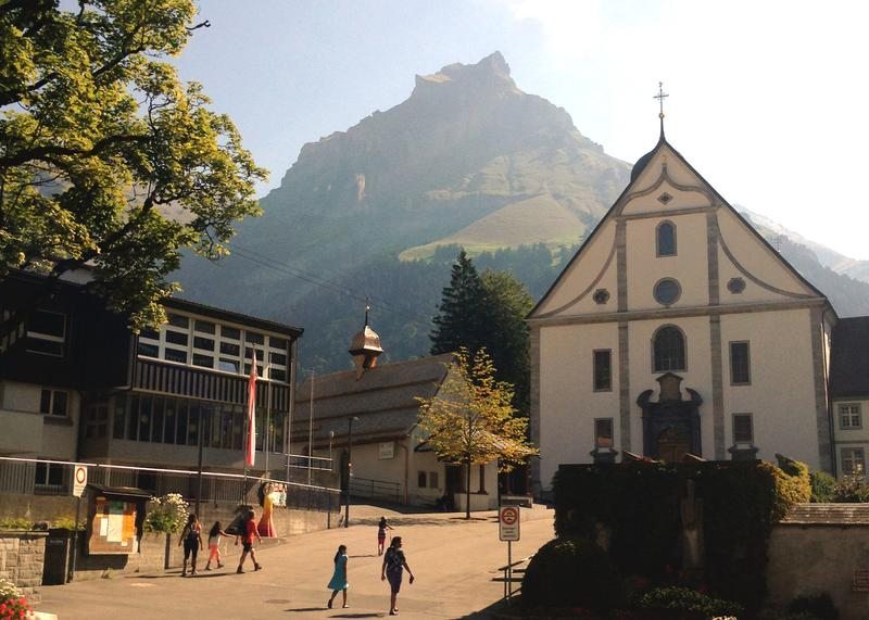 Angel Mountain in Engelberg, Switzerland.