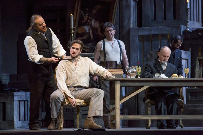 Tosca by Giacomo Puccini performed by the Lyric Opera of Chicago