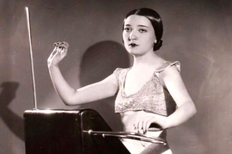 Clara Rockmore, theremin champion.