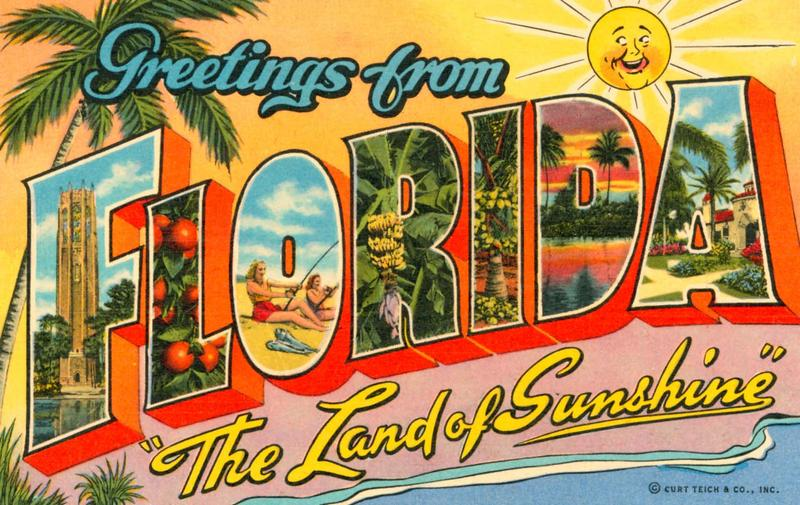 The Sunshine State Postcard