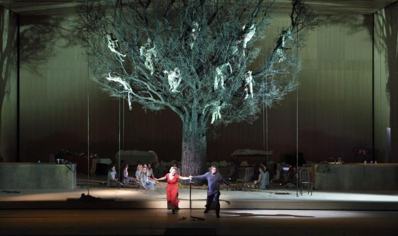 The tree features prominently in Wagner's Die Walküre.