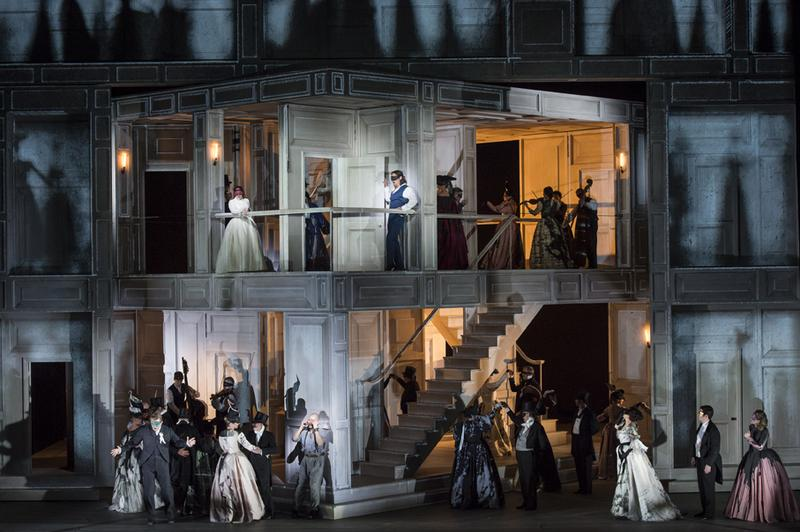 """Mozart's """"Don Giovanni"""" from London's Royal Opera House, Covent Garden."""
