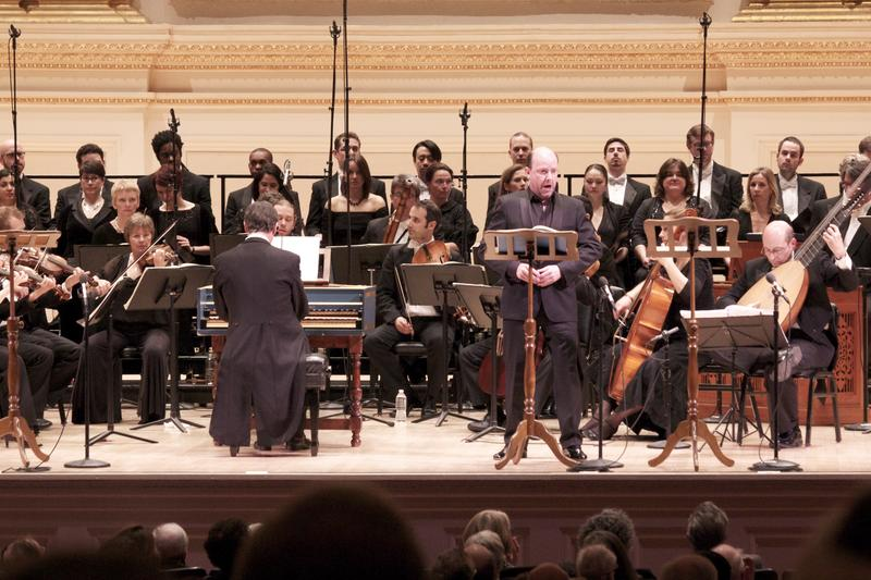 The English Concert at Carnegie Hall.