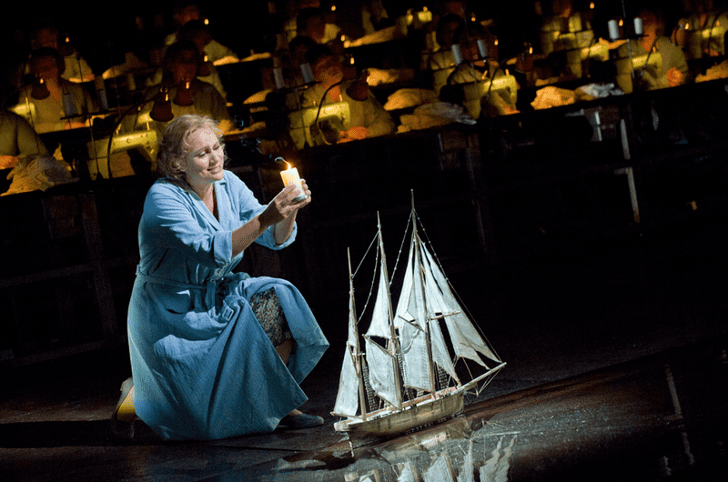 Wagner's 'The Flying Dutchman' from the Royal Opera House.