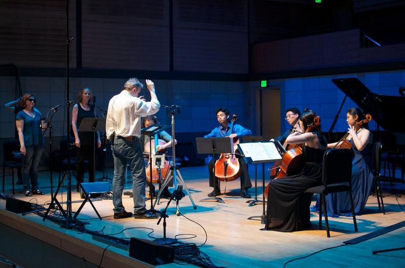 Konpeito Cello Ensemble performs 'Angel Heart,' a music storybook.