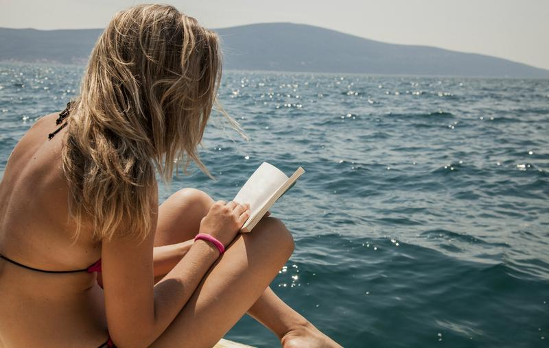 Enjoying a summer read