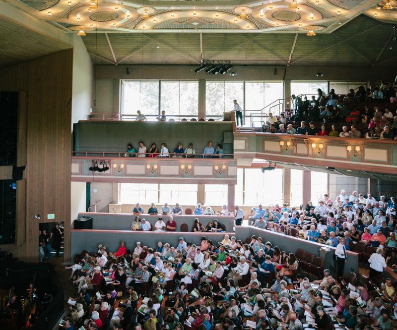 The Glimmerglass Festival is one of many places to experience NY opera during the warm months.