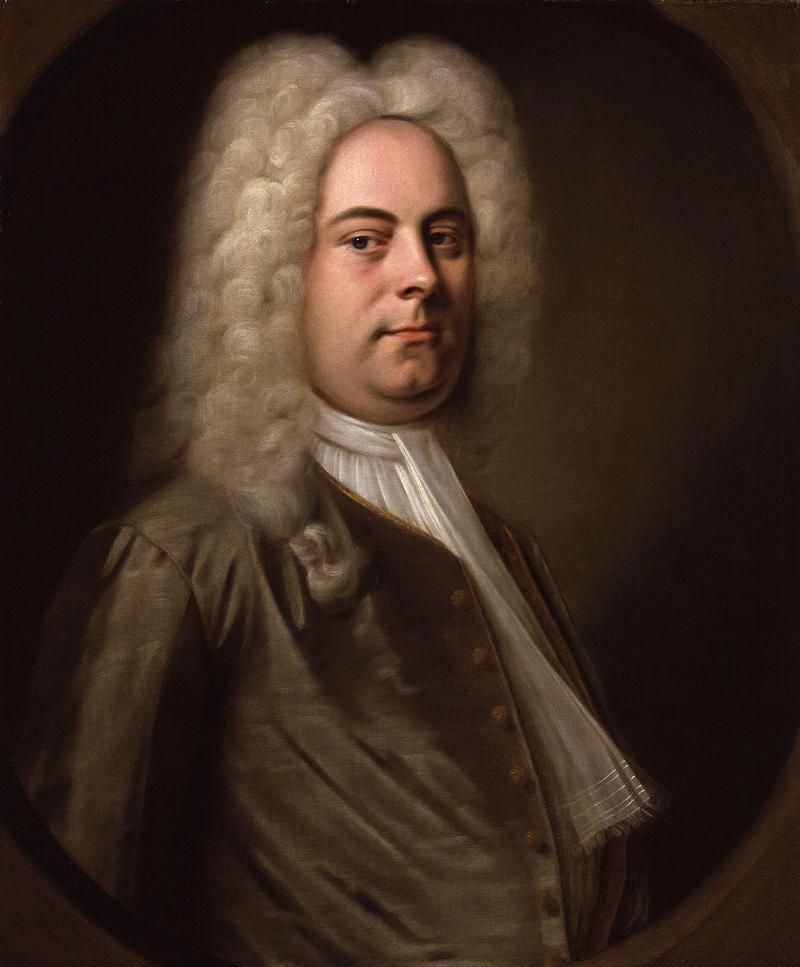 Portrait George Frideric Handel