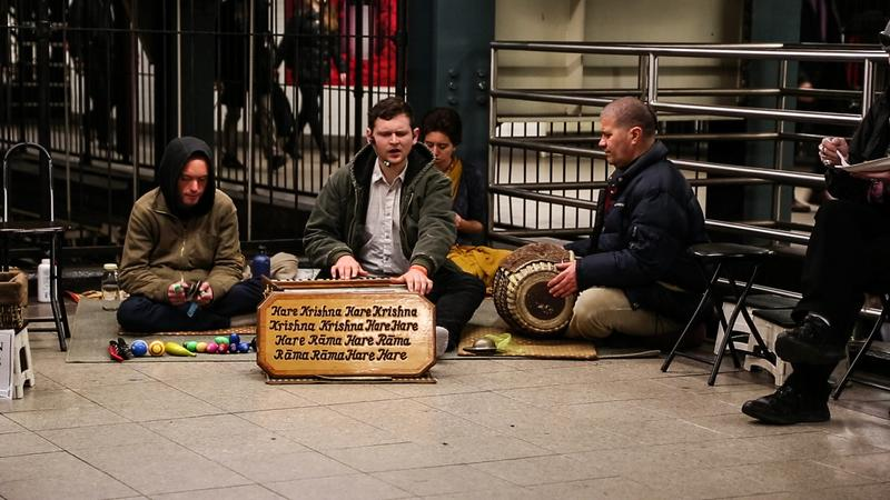 The Hare Krishnas Are Back, Thanks to Occupy Wall Street