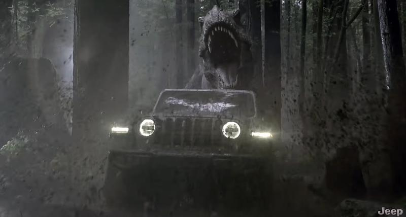 The 'Jeep Jurassic' Super Bowl commercial.