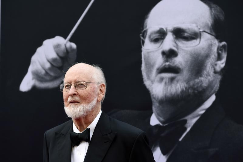 Composer John Williams poses on the red carpet at the 2016 AFI Life Achievement Award Gala Tribute to John Williams at the Dolby Theatre in Los Angeles.