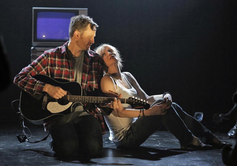 Todd Almond and Courtney Love in 'Kansas City Choir Boy.'