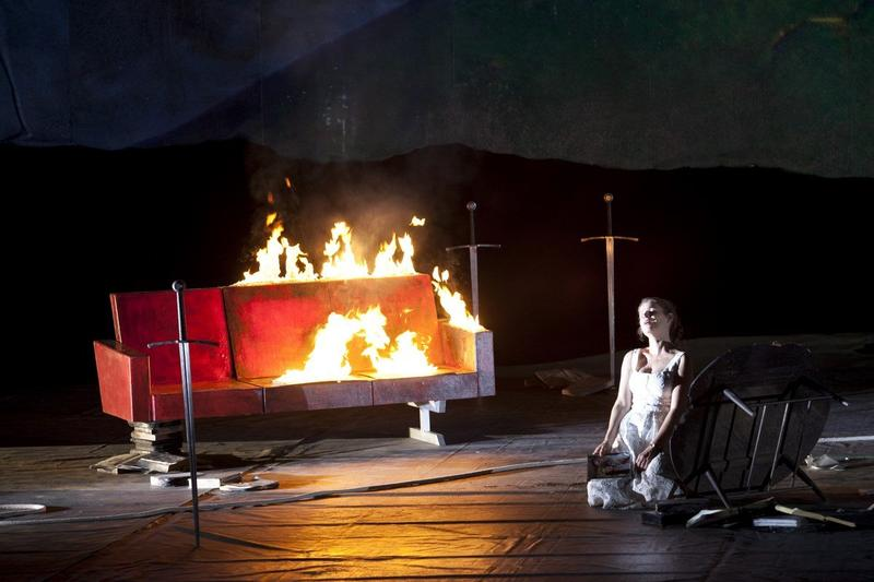Chausson's 'King Arthur' from the Bastille Opera in Paris.