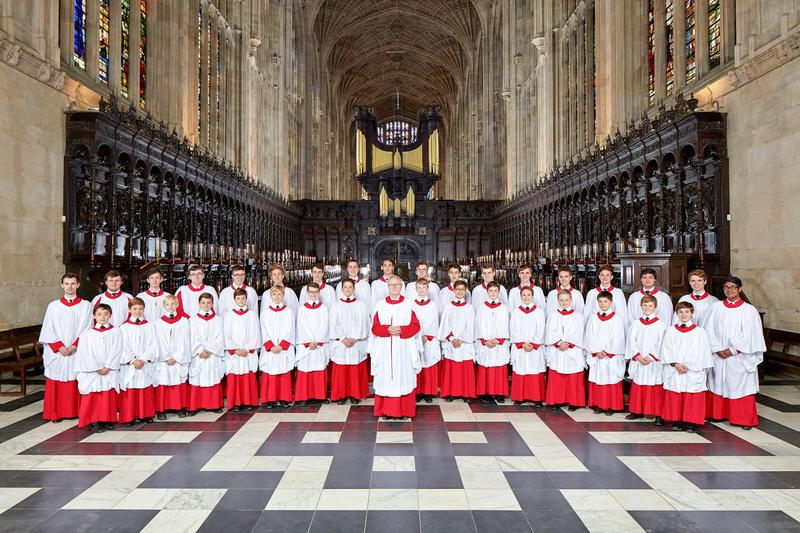 King's College Choir for the 2017-18 academic year.
